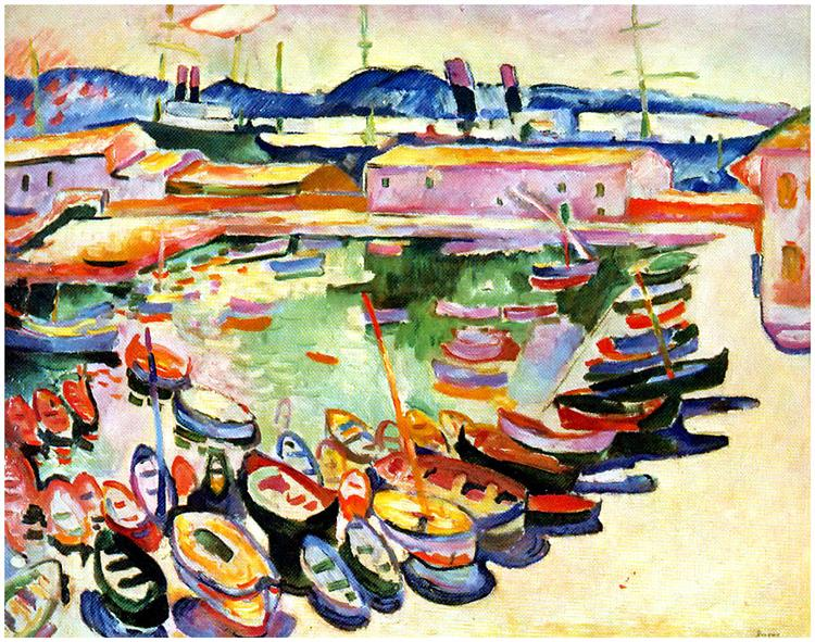 Port of La Ciotat, 1907 - Georges Braque