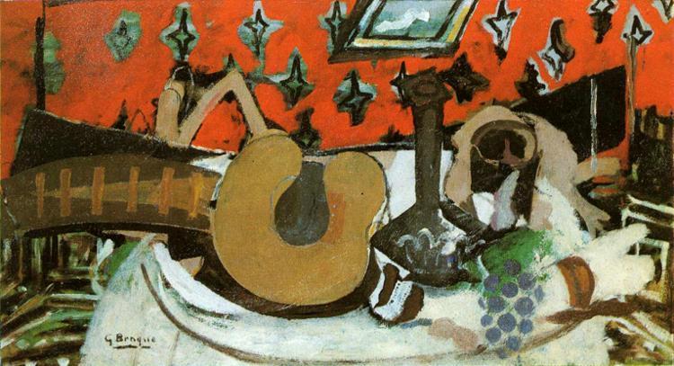 Still Life Mandolin II, c.1939 - Georges Braque