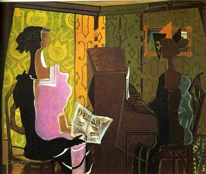 The Duet, 1937 - Georges Braque