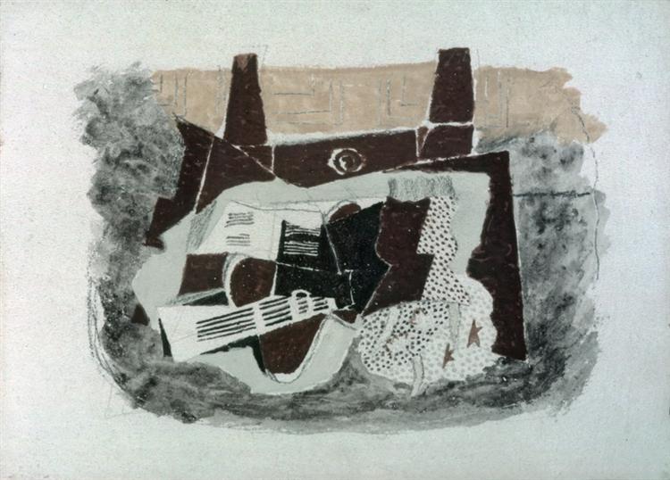 The Green Jug, c.1914 - Georges Braque