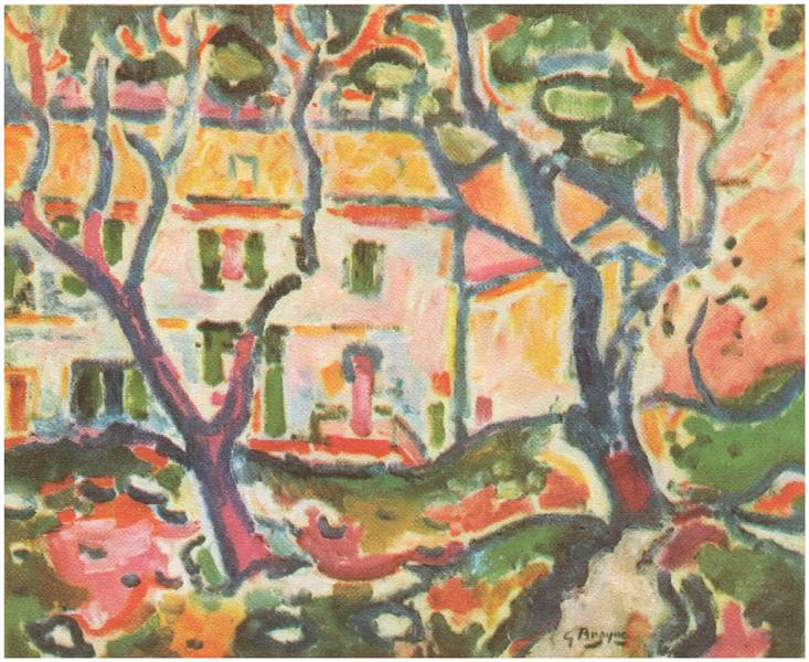 The House Behind the Trees, 1906 - Georges Braque