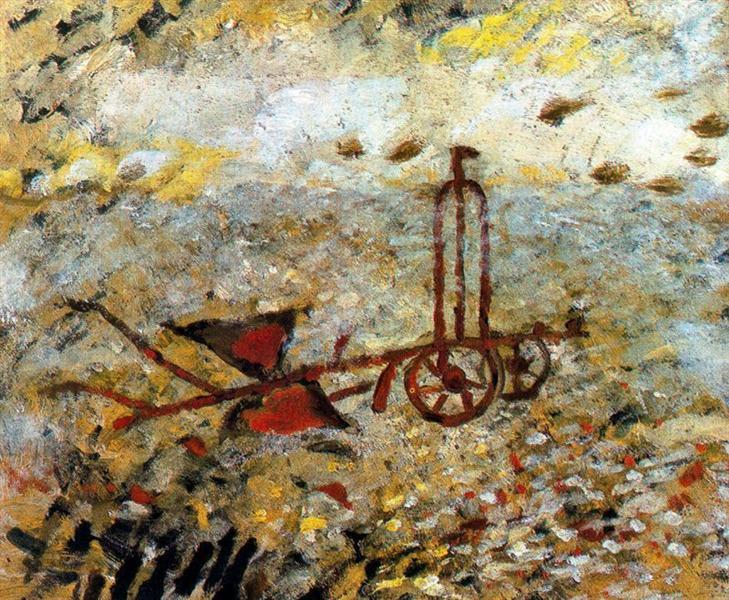 The Metallic Plow, 1962 - Georges Braque