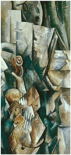 Violin and Palette - Georges Braque