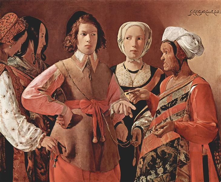 The Fortune-Teller - Georges de la Tour