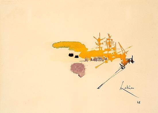 Harlay I, 1968 - Georges Mathieu