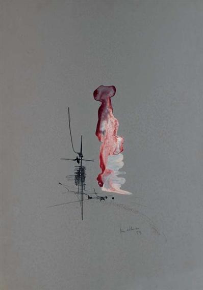 Untitled, 1959 - Жорж Матьё