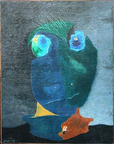 Tête fantastique, 1928 - Georges Papazoff