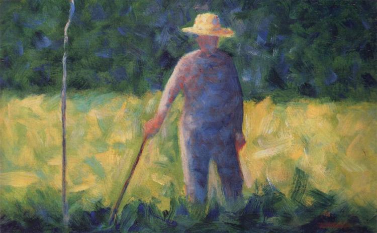 Gardener, 1882 - Georges Seurat