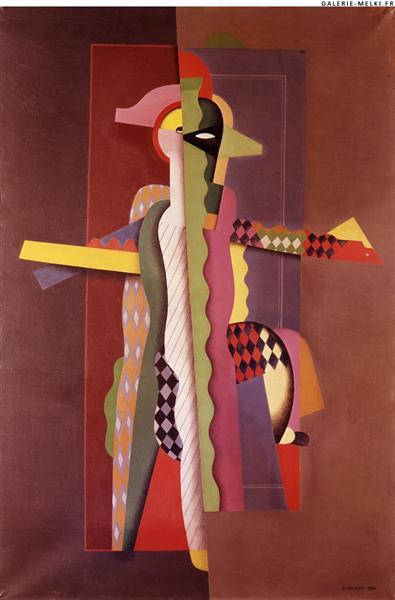 Arlequin Dansant, 1924 - Georges Valmier