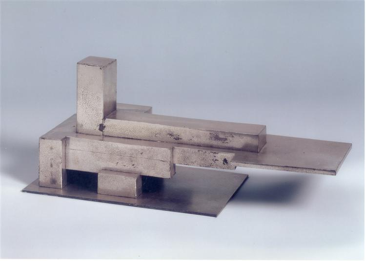 Aéroport plus armature (Type A), 1928 - Georges Vantongerloo