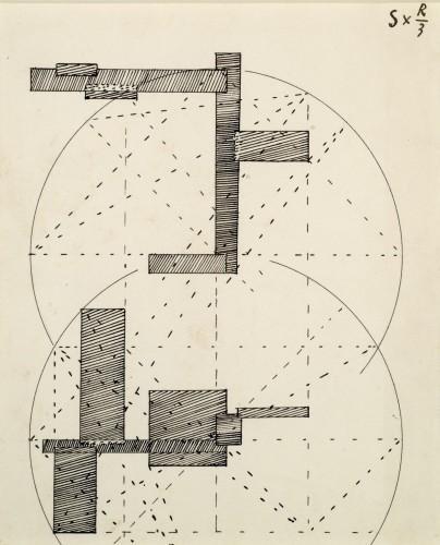S x R/3 (Construction pour une sculpture), 1936 - Georges Vantongerloo