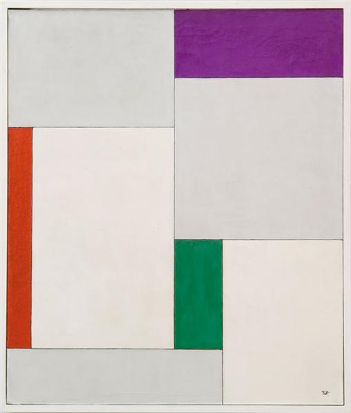 XVII composition dans le carré, 1930 - Georges Vantongerloo
