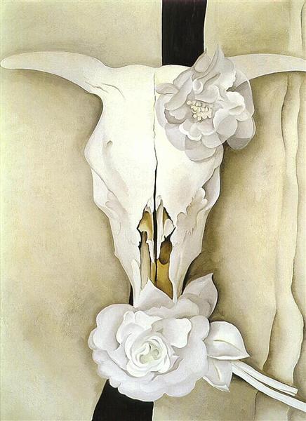 Cow's Skull with Calico Roses, 1931 - Georgia O'Keeffe