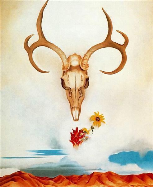 Summer Days, 1936 - Georgia O'Keeffe