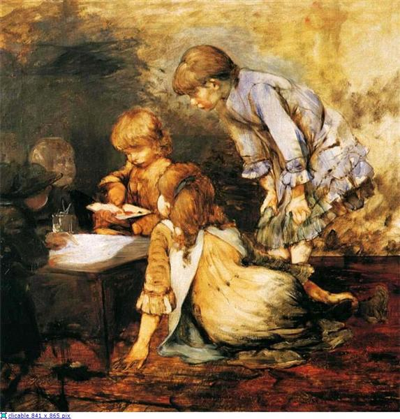 At The Studio, 1884 - Georgios Jakobides