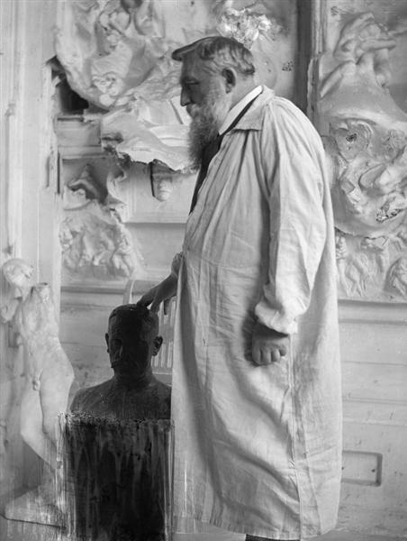 Auguste Rodin at Meudon - Gertrude Kasebier