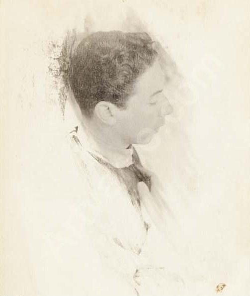 Portrait of Baron Adolph de Meyer - Gertrude Kasebier