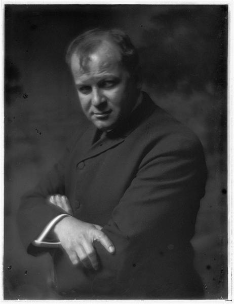 Portrait of George Luks - Gertrude Kasebier