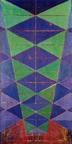 Iridescent Interpenetration, 1913 - Giacomo Balla
