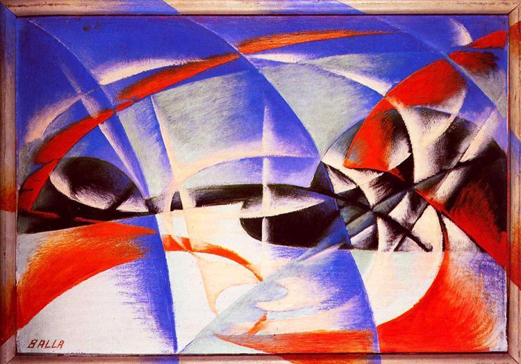 Landscape, 1913 - Giacomo Balla
