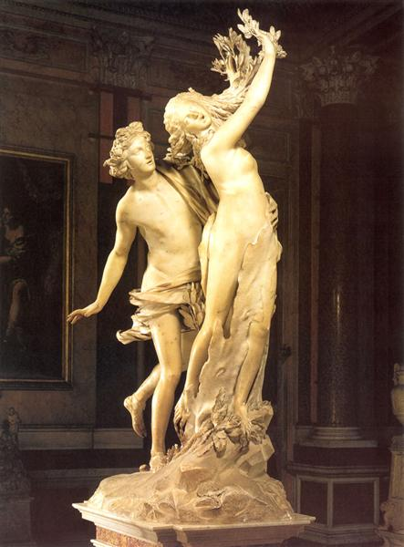 Apollo and Daphne, 1622 - 1625 - Gian Lorenzo Bernini