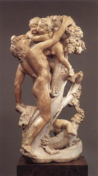 Bacchanal A Faun Teased by Children, 1616 - 1617 - Gian Lorenzo Bernini