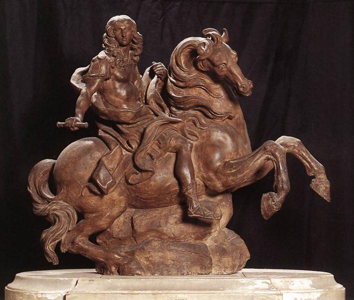 Equestrian Statue of King Louis XIV, 1669 - 1670 - Gian Lorenzo Bernini
