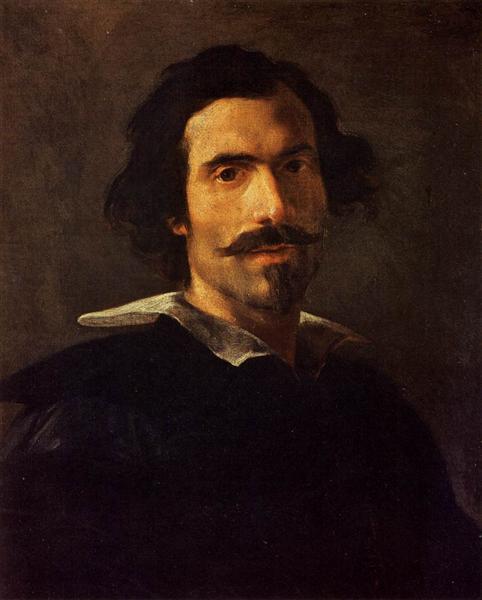 Self-Portrait, c.1635 - Gian Lorenzo Bernini