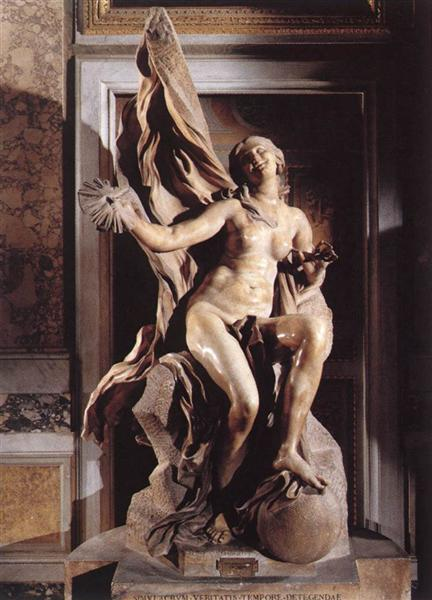 Truth Unveiled by Time, c.1645 - c.1652 - Gian Lorenzo Bernini