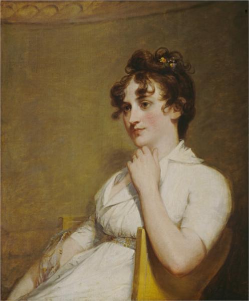 Eleanor Parke Custis Lewis(Washington's granddaughter), 1804 - Gilbert Stuart