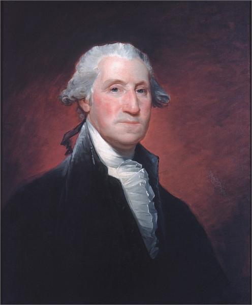 George Washington (Vaughan portrait), 1795 - Gilbert Stuart