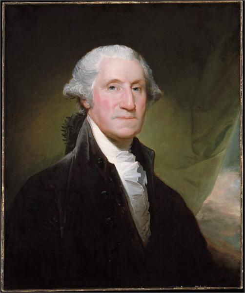 George Washington, 1795 - Gilbert Stuart