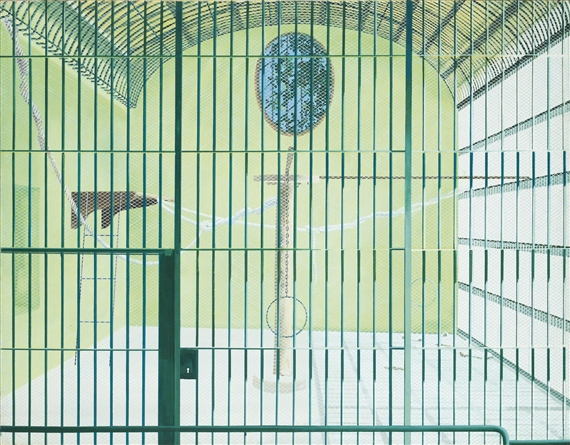 Gilles Aillaud Cage vide Gilles Aillaud WikiArtorg