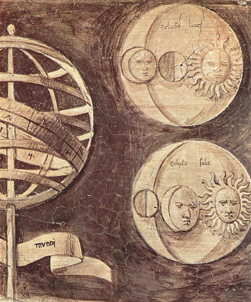 Globe, moon, sun (astronomy), 1510 - Giorgione