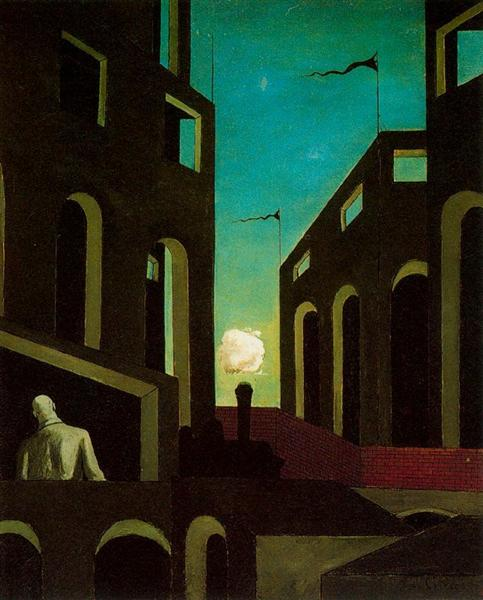 Happiness of returning, 1915 - Giorgio de Chirico