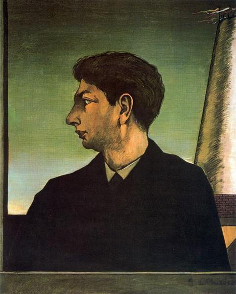 Self Portrait, 1911 - Giorgio de Chirico