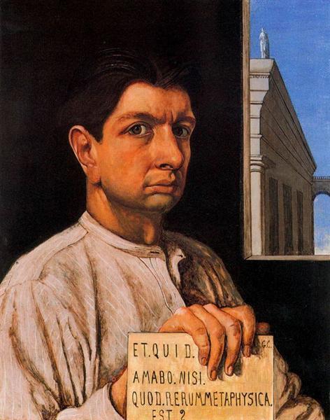 Self Portrait, 1920 - Giorgio de Chirico