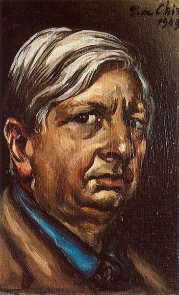 Self Portrait, 1949 - Giorgio de Chirico