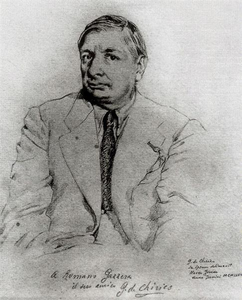 Self Portrait, 1969 - Джорджо де Кіріко
