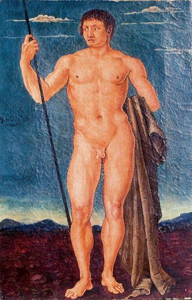 St. George, 1920 - Giorgio de Chirico