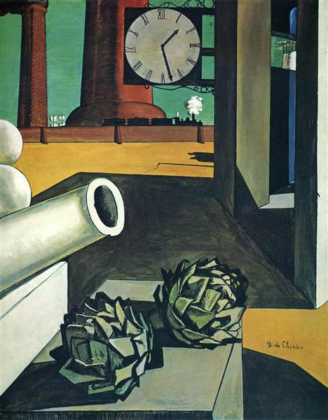 The Conquest of the Philosopher, 1914 - Giorgio de Chirico