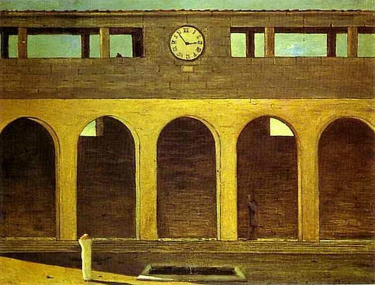 The Enigma of the Hour, 1911 - Giorgio de Chirico
