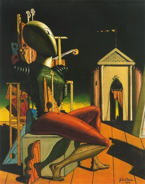 The predictor, 1916 - Giorgio de Chirico
