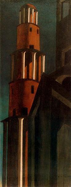 The tower, 1913 - Giorgio de Chirico