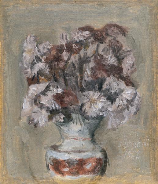 Flowers, 1942 - Giorgio Morandi