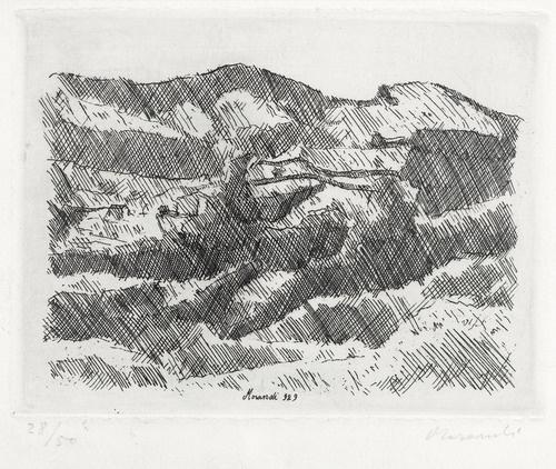 Monti di Grizzana, 1929 - Джорджо Моранді