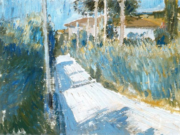 Passage, 1913 - Giorgio Morandi