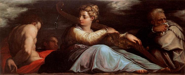 Patience, 1542 - Giorgio Vasari