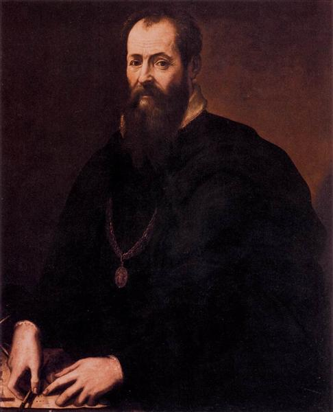 Porträt Giorgio Vasaris, 1550 - 1567 - Giorgio Vasari