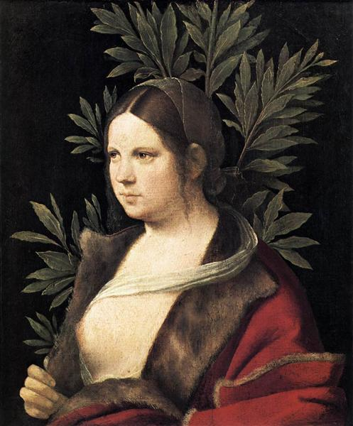 Portrait of a Young Woman (Laura), 1506 - Giorgione